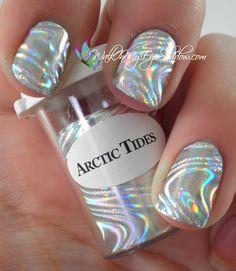Arctic Tides Nail Foil...I want this!