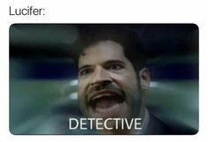 Lucifer 3, Tom Ellis Lucifer, Series Movies, Movies And Tv Shows, Tv Series, Reaction Pictures, Best Funny Pictures, Image Hilarante, Image Triste