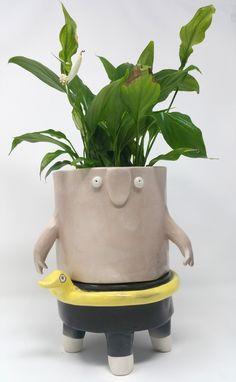 Vasi in ceramica - The TerraTiny Family - Max Schiavetta Planter Pots