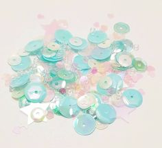 Hey, I found this really awesome Etsy listing at https://www.etsy.com/listing/502863505/sequin-mix-shaker-mix-blue-caribbean