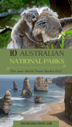 Dreaming of Australian travel? Check out our Top 10 Australian National Parks for your World Travel Bucket List, including Kakadu, Daintree, Uluru-Kata Tjuta & more. Combine them to create the ultimate Australian road trip!   Australia Travel   Australia National Parks   Australia Travel Tips