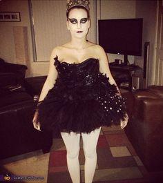 Black Swan Costume - 2012 Halloween Costume Contest