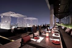 Ten Spectacular Rooftop Bars And Lounges
