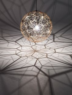 Limited Edition - Etch Web Pendant from Tom Dixon. #design #lighting #tomdixon