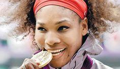 Serena williams wins singles gold career golden slam serena is