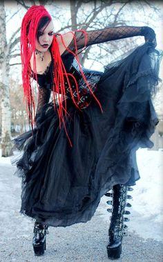 Goth:  #Goth Girl.
