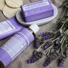Have you tried @drbronners_australia Lavender products? Don't fret! You won't smell like your Nana's potpourri :) Lavender will help you relax and feel soothed. Dr. Bronner's organic Soaps are made with certified fair trade ingredients and organic hemp oil for a soft, smooth lather that won't dry your skin. 100% biodegradable!  #repost #drbronners Shop #BellaNaturally #greenbeauty #makeup #beauty #naturalbeauty #organicskincare #crueltyfreebeauty #naturalmakeup #nontoxicbeauty #organicb...