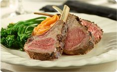 Grilled Rack of Lamb ~ Our Better Than Bouillon marinade gives this dinner classic a deliciously savory taste! | BetterThanBouillon.com