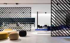 Nice zone / room divider, very modern and neat