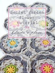 Dadas place secret garden shawl free pattern