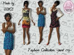 TSR: 's Fashion Collection - part 179 - Clothing Themes, Sims 2, Outfit Sets, Cas, Maternity, Cover Up, Summer Dresses, Clothes, Collection