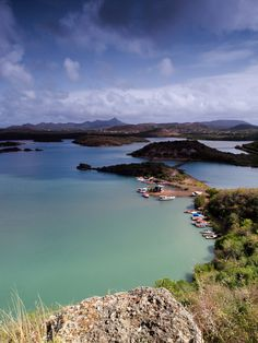 Santa Martha Bay, Curacao #Caribbean