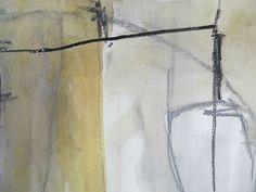 "oliver-voelkening:    ""Erqua"" -Detail 2, Papier, ca. 15 x 10cm."
