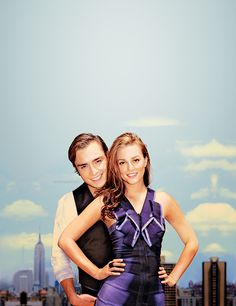 Chuck Bass and Blair Waldorf  perfection