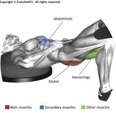 GLUTES - ONE LEG BRIDGE ON BOSU