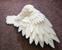 Cosplay Wings made from FELT!  NO tutorial,  but inspiration~