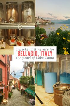 Bellagio is a beautiful town in Italy that borders Lake Como. If you want to spend a weekend at Lake Como, Italy you'll definitely want to check out this weekend guide first. We will tell you where to stay by Lake Como, things to see and do in Bellagio, and where to eat in Bellagio, Italy. Make sure you save this Lake Como guide to your travel board to help you plan your next trip.