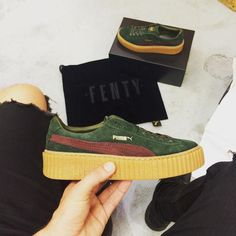 Rihanna Puma Creepers May 2016 (4)