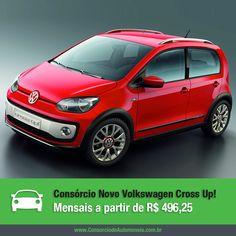 Conheça o novo Volkswagen Cross Up!: https://www.consorciodeautomoveis.com.br/noticias/novo-volkswagen-cross-up-2015-a-partir-de-r-496-25?idcampanha=206&utm_source=Pinterest&utm_medium=Perfil&utm_campaign=redessociais