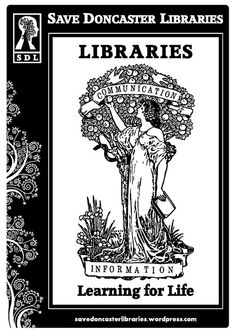 Save Doncaster Libraries Poster by Save Doncaster Libraries, via Flickr