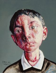Zeng Fanzhi, Portrait 2009 on ArtStack #zeng-fanzhi-ceng-fan-zhi #art