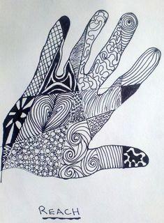 Zentangle Ideas | zentangle-hand.jpg