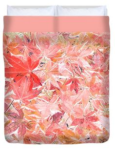 Photography Duvet Cover featuring the photograph Pastel Impressions Of Autumn By Kaye Menner by Kaye Menner