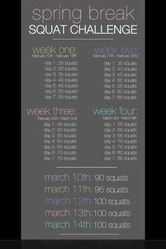 100 Squat Challenge!