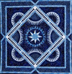 Frosted Blue quilt pattern by Jacqueline deJonge | BeColourful Quilts