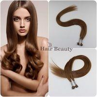 "24""  I tip hair extensions/Fusion hair keratin extension use High Quality Italian keratin glue for fashion women Hair Extensions"
