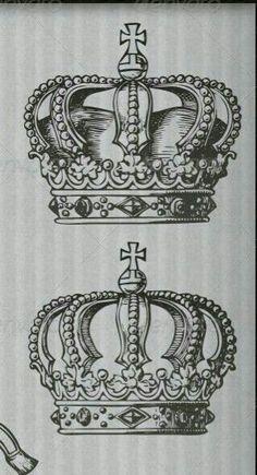 Coronas bocetos