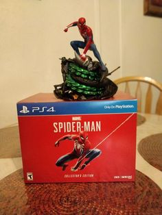 Spiderman Collectors Edition PS4 (No Game) Experience a brand-new and authentic Spider-Man adventure with a fully customized Amazing Red PS4 Pro console.  Best spider man ps4 pro bundle, Save price pider man ps4 bundle, Spider man ps4 pro best buy Spider man ps4 pro gamestop, Spider man ps4 pro walmart Best seller #spidermanps4prorestock #ps4prospidermanedition #Spidermanps4proconsole