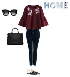 """Like home"" by francystyling78 on Polyvore featuring moda, A.L.C., Christian Dior, Burberry e Gucci"
