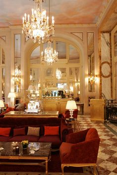 Would love to check into Hotel de Crillon, Paris - full on diva style!