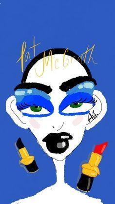 My art for Pat McGrath❤️🔥