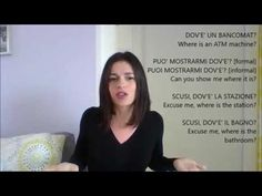 LEARN ITALIAN: QUESTION WORDS. DOVE, COME,COSA, CHI, .....? - YouTube