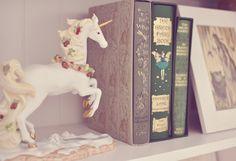 unicorn and books