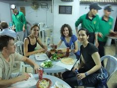 Courtesy of another blog, the Hashem restaurant, famous for its falafil and cheap prices :D Its our favorite place to eat in Amman.