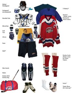 22 Best Organize - Hockey gear images  b89f4555d63