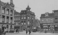 1928 Tram naar Bloemendaal vanaf Station Haarlem.*