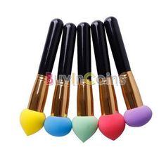 Cosmetic Makeup Brushes Set Liquid Cream Foundation Sponge Brush