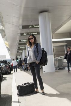Go-To Airport Outfit | Song of Style