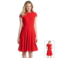 Product: Jessica Howard® Cap Sleeve Exposed Back Zipper Dress