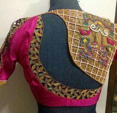 Magnificent bridal blouse design