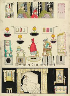 Hader paper doll_Good Housekeeping magazine, September 1925