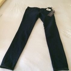 Abercrombie stretch jegging Soft and sexy with perfect stretch dark denim Jean Abercrombie & Fitch Jeans Skinny