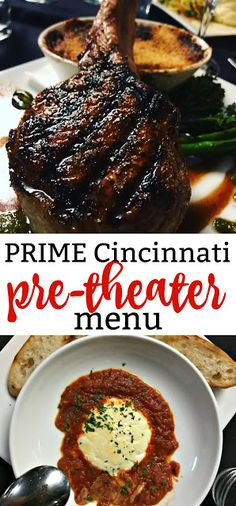 Restaurant Review Prime Cincinnati Pre Theater Menu