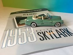 Vintage 1953 gmc franklin diecast