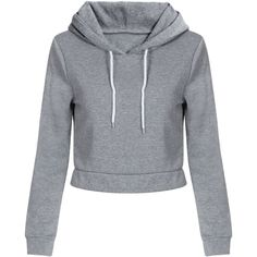 Yoins Light Grey Hooded Strappy Front Crop Sweatshirt ($23) ❤ liked on Polyvore featuring tops, hoodies, sweaters, yoins, grey, short crop tops, long hooded sweatshirt, hooded pullover, hooded sweatshirt and gray hooded sweatshirt