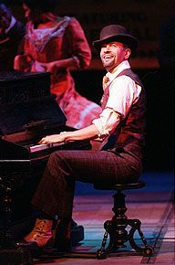 "Brian Stokes Mitchell as Coalhouse Walker, Jr. in ""Ragtime: The Musical"" (1998)"